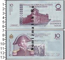 Каталог монет - монета  Гаити 10 гурдов