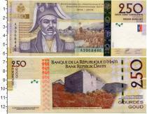 Каталог монет - монета  Гаити 250 гурдес