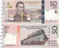 Каталог монет - монета  Гаити 50 гурдес
