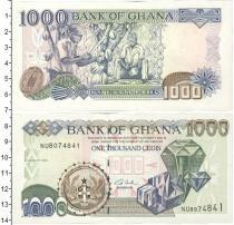 Каталог монет - монета  Гана 1000 седи
