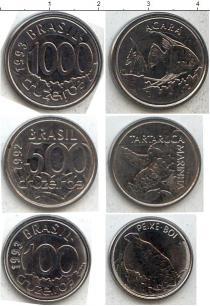 Каталог - подарочный набор  Бразилия Бразилия 1992-1993