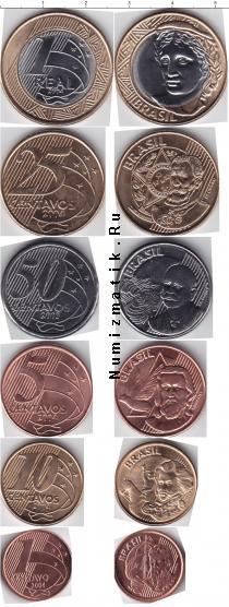 Каталог - подарочный набор  Бразилия Бразилия 2002-2004