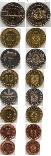 Каталог - подарочный набор  Латвия Латвия 1992-2003