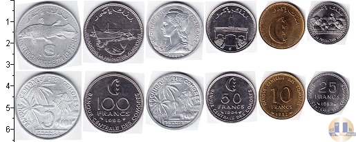 Каталог - подарочный набор  Коморские острова Коморские острова 1964-1977