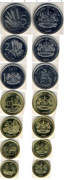 Каталог - подарочный набор  Лесото Лесото 1998-2006