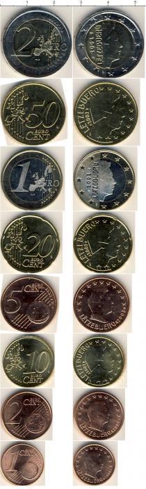 Каталог - подарочный набор  Люксембург Люксембург 2002-2007
