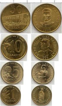 Каталог - подарочный набор  Парагвай Парагвай 1993-1998