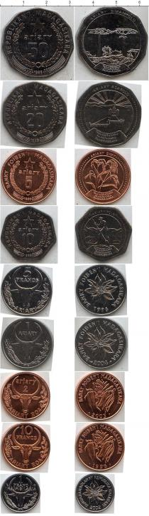 Каталог - подарочный набор  Мадагаскар Мадагаскар 1996-2004