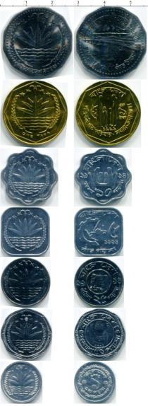 Продать Наборы монет Бангладеш Бангладеш 1974-1996 0