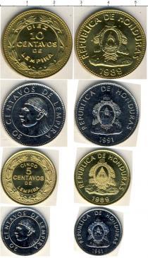 Каталог - подарочный набор  Гондурас Гондурас 1989-1991