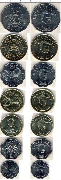 Каталог - подарочный набор  Свазиленд Свазиленд 1998-2003
