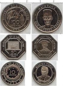 Каталог - подарочный набор  Сьерра-Леоне Сьерра-Леоне 1996