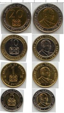 Каталог - подарочный набор  Кения Кения 1994-1998