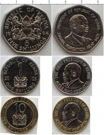 Каталог - подарочный набор  Кения Кения 1994-2005
