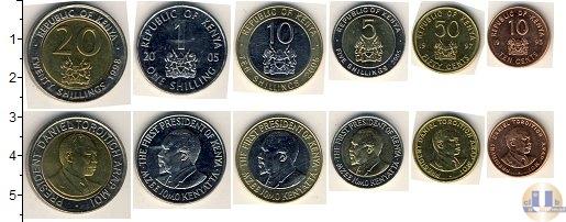 Каталог - подарочный набор  Кения Кения 1995-2005