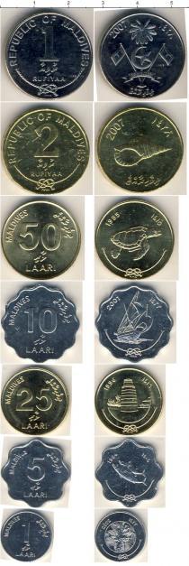 Каталог - подарочный набор  Мальдивы Мальдивы 1984-2002