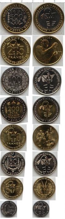Каталог - подарочный набор  Центральная Африка Центральная Африка 2002-2004
