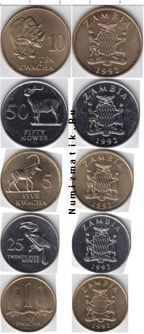 Каталог - подарочный набор  Замбия Замбия 1992