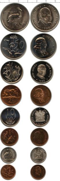 Каталог - подарочный набор  ЮАР ЮАР 1983