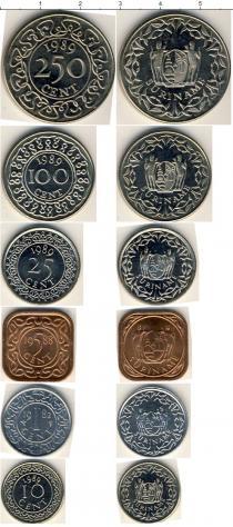 Каталог - подарочный набор  Суринам Суринам 1982-1989
