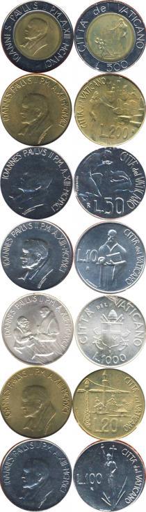 Каталог - подарочный набор  Ватикан Выпуск 1991 года