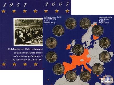 Каталог - подарочный набор  Германия 50-летие ЕЭС