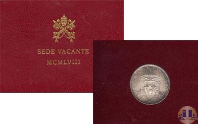 Каталог - подарочный набор  Ватикан SEDE VACANTE 1958