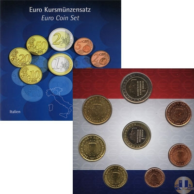 Каталог - подарочный набор  Нидерланды Подарочный набор евро 2003