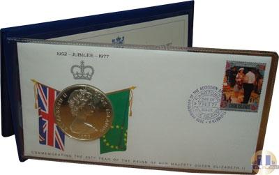 Каталог - подарочный набор  Острова Кука 25 лет правления Елизаветы II