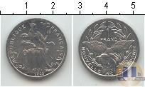 Каталог монет - монета  Каледония 1 франк