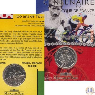 Каталог - подарочный набор  Франция 100-летие Тур де Франс