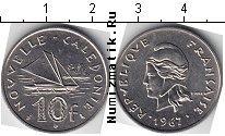 Каталог монет - монета  Каледония 10 франков
