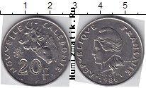 Каталог монет - монета  Каледония 20 франков