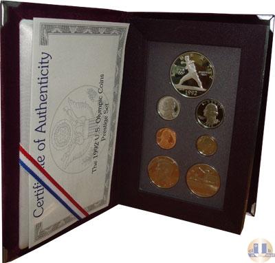 Каталог - подарочный набор  США Олимпийские игры 1992 года