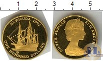 Каталог монет - монета  Бермудские острова 100 долларов