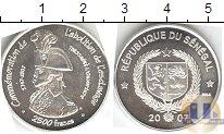 Каталог монет - монета  Сенегал 2500 франков