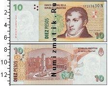 Каталог монет - монета  Аргентина 10 песо