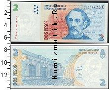 Каталог монет - монета  Аргентина 2 песо