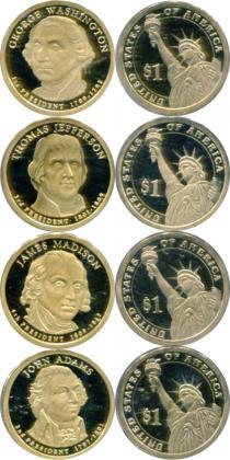 Каталог - подарочный набор  США Президенты США