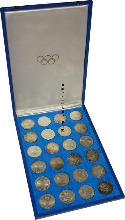 Каталог - подарочный набор  ФРГ Олимпийские игры в Мюнхене