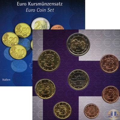 Каталог - подарочный набор  Финляндия Годовой набор евро 2003