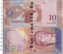 Каталог монет - монета  Венесуэла 10 боливар