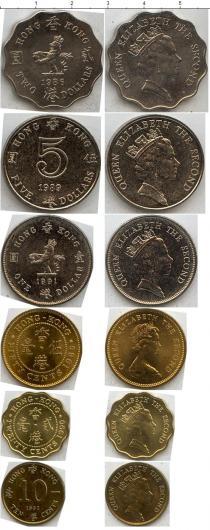 Каталог - подарочный набор  Гонконг Гонконг 1980-1991
