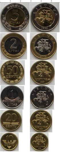 Каталог - подарочный набор  Литва Литва 1997-2001