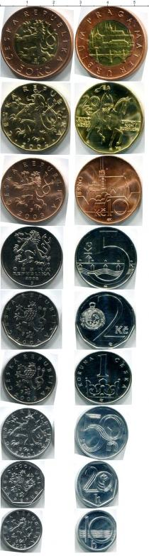 Каталог - подарочный набор  Чехия Чехия 1993-2004