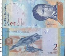 Каталог монет - монета  Венесуэла 2 боливара