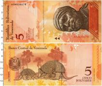Каталог монет - монета  Венесуэла 5 боливар