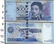 Каталог монет - монета  Венесуэла 5000 боливар