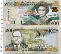Каталог монет - монета  Карибы 100 долларов