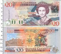 Каталог монет - монета  Карибы 20 долларов